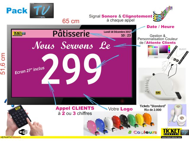 Pack TV PATISSERIE