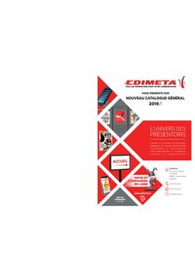 Catalogue EDIMETA 2019/1