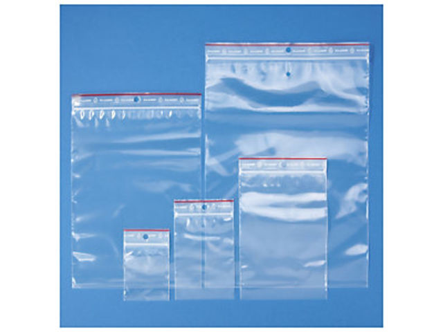 Assortiment de 500 sachets plastique zip 100 microns RAJAGRIP Super