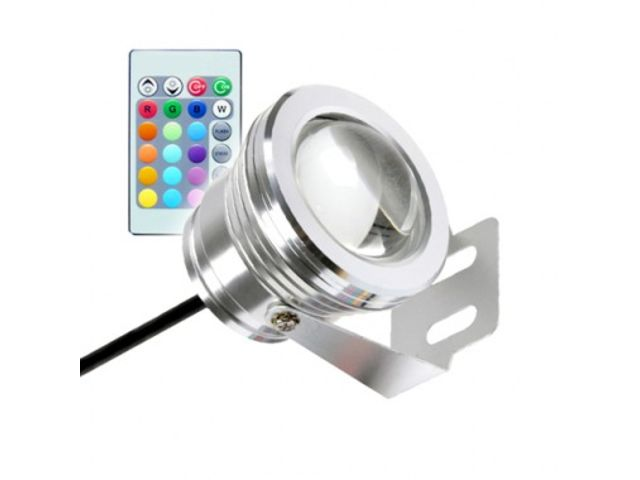 Spot LED Fixation au Sol RGB 7W