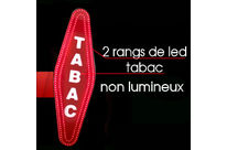 Carotte de tabac 2 rangs de led