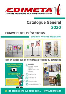 CATALOGUE EDIMETA 2020