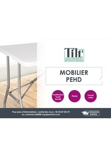 Catalogue mobilier PEHD