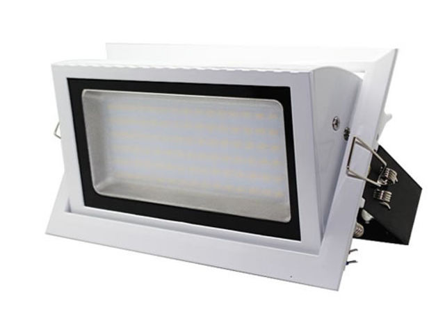 Spot led 23w rectangulaire encastrable orientable dimmable for Spot led interieur encastrable